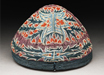 Cap with leaves and flowers. www.http://jameelcentre.ashmolean.org/collection/921/object/10876