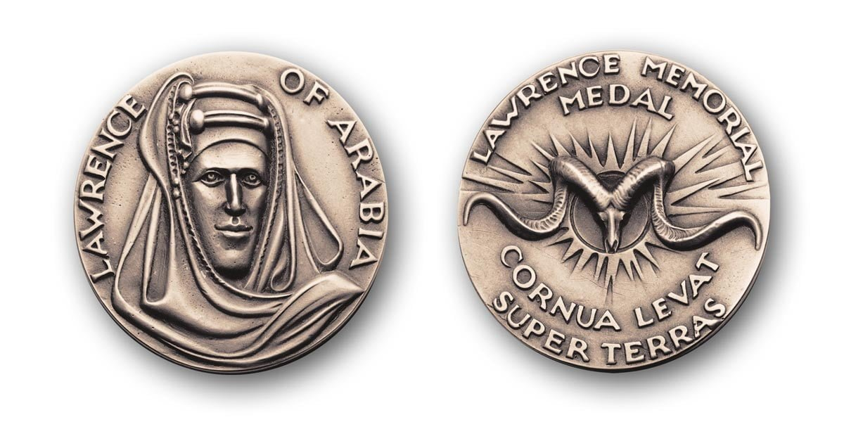 The Lawrence of Arabia Medal